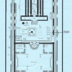 This is a floor plan of the Second Temple