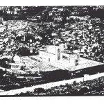 Placement of The Third Temple next to the Dome of the Rock mosque