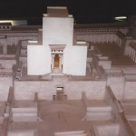 Model of the Second Temple inside the Kotel Tunnel