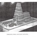 Front elevation of Solomon's Temple